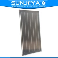 Panel Type Copper Pipe Material Pressurized Hot Water Heating Flat Plate Solar Collector with CE & EN 12975