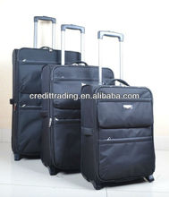 "Trolley Luggage Set 3pcs good quality 20""24""28"" stock"