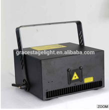 10 watt RGB Animation Laser Light 40Kpps galvo scanner+Flightcase 10W disco equipment