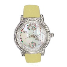 Color Optional Children Watches Chinaquartz Wrist Watch With Interchangeable Leather Band