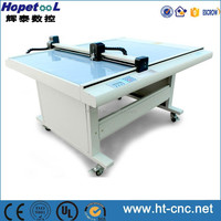 High speed accurate paper pattern flatbed die cutter