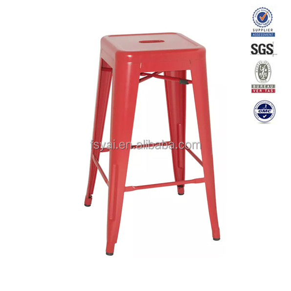 Modern Design living room industrial Powder Coating lab stool