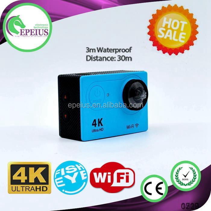 BEST-SELLING H9 WIFI REAL 4K hd 4 <strong>k</strong> waterproof dv action camera 170 WIDE ANGLE SPORTS DV