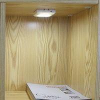 SMD3528 4.5V modular kitchen cabinets led battery operated cabinet light
