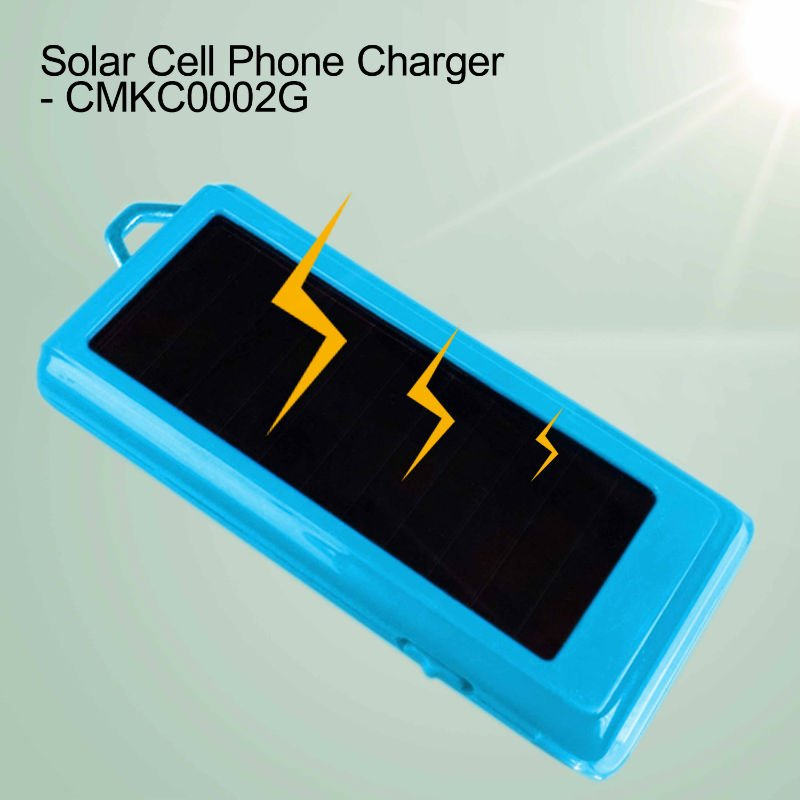 Universal Cell Phone Charger with Solar Panel