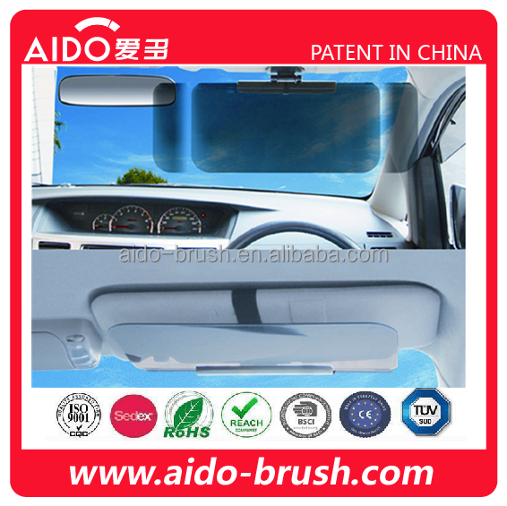 2 in 1 SUV Car Automobile Sun Anti-UV Block Visor Day and Night Non Glare Anti-Dazzle Sunshade Mirror Goggles Shield