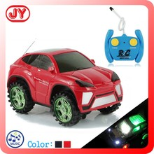 Mini 2CH radio remote control car toy with 3D music and light
