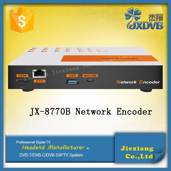 Digital Display HD over IP Stream MPEG4/H.264 Encoder for IPTV/<strong>Network</strong>