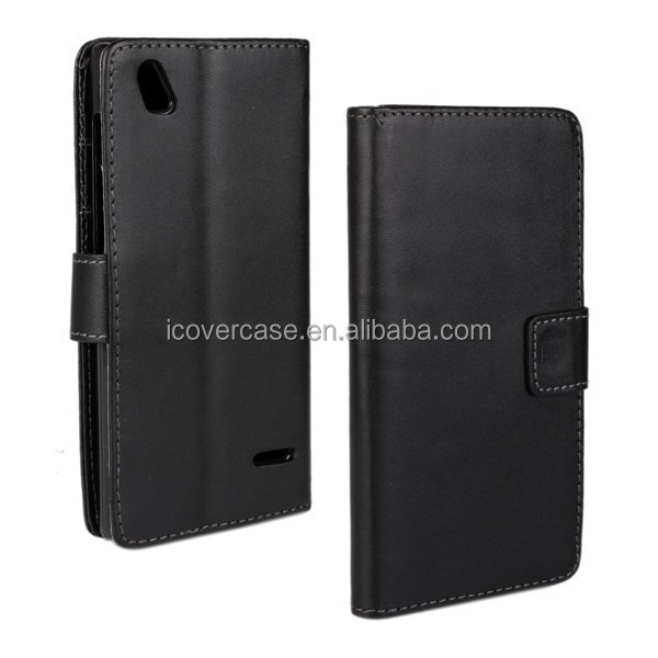 wholesale mobile phone accessories wallet leather pouch case for ZTE Blade VEC 4G