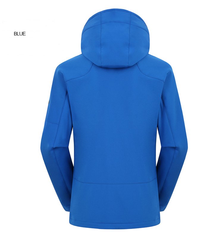 Winter outdoor mens nylon waterproof jacket for sportswear