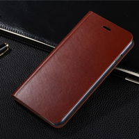 Luxury genuine leather case for iphone 5/iphone 5s