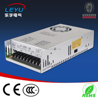 CE RoHS approved factory outlet Dc output 12v 250w Switch mode Power Supply S-250 single output power supply