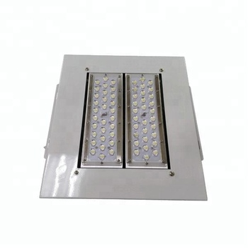 square design 400*400mm modular led canopy light for gas station