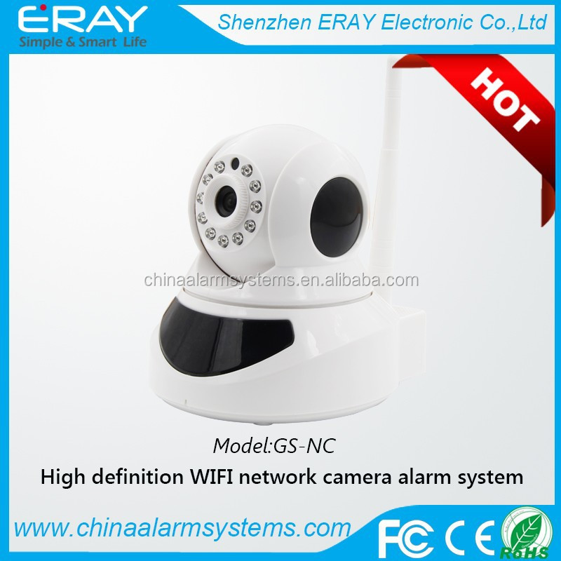 Wireless/wired P2P Mini plug and play WIFI IP Camera With SD Card