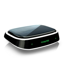 Auto Solar Powered Active Carbon Negative ion Car Air Purifier