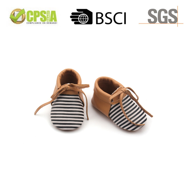 2017 Factory Derictly Wholesale Cheap Leather Baby Shoes