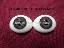 Factory directly sell realistic glass 2013 wholesale doll eyes real mink strip eyelash