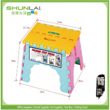 PP plastic folding step stool,folding chair plastic