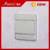 Bihu aluminum wall switch 1 gang 2 way light switch covers