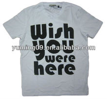 Beathable Moisture Wicking Ready Made T-Shirt/Garment
