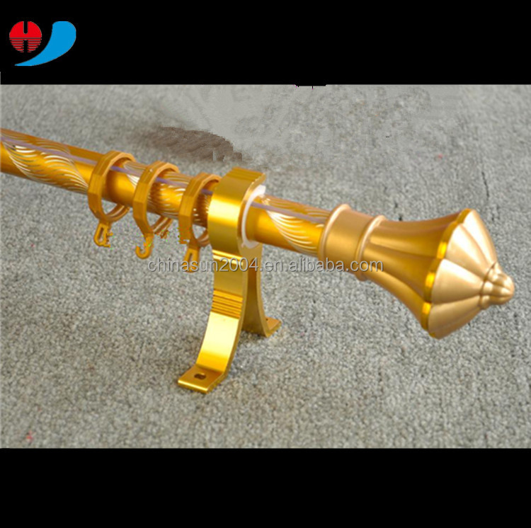 Wholesale 24mm <strong>aluminum</strong> curtain rod/pole and accessories
