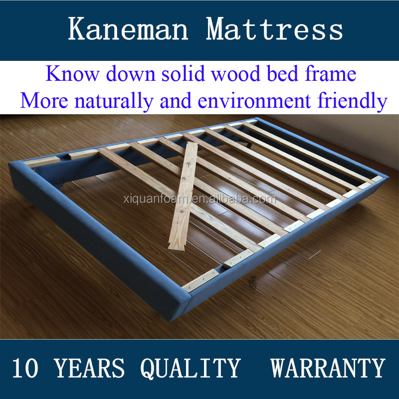 Solid wood bed frame with cheap price