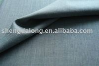 SDLJ10-F6x052 Blue and white check fabric for suiting and garment