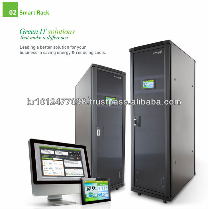 Smart Rack - self cooling & heating server enclosure & 19inch Rack