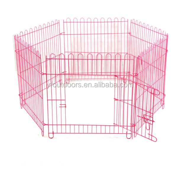 Folding cheap dog playpen