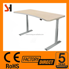 Shenghua adjustable standing desk/table, 4 memery button, anti-collision