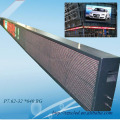 Slim Outdoor pixel 32 x 640 LED advertising billboard LED programmable moving display information board
