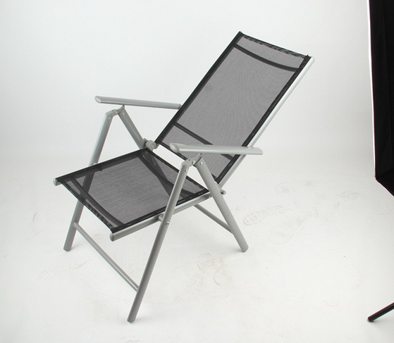 stacking chair steel tube42*14mm sling chair foldable chair