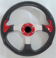Bumper racing car scooter steering wheels for car