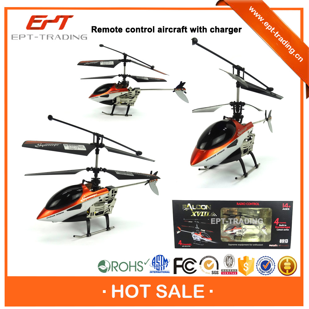 Top quality wireless 4ch rc helicopter with charger