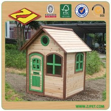 Wooden kids play house DXPH008