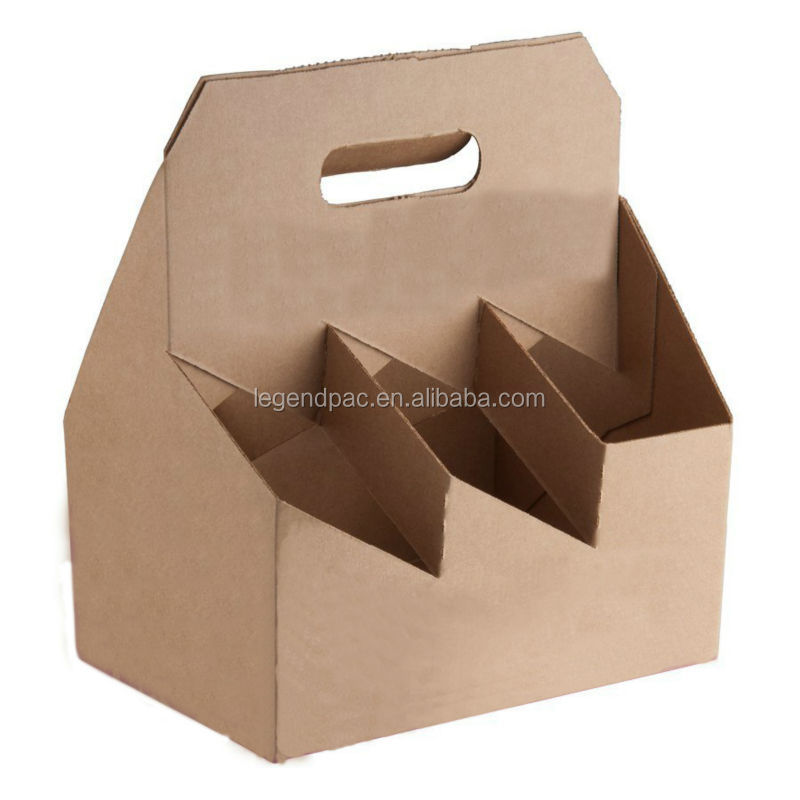 Corrugated Paper Box / Corrugated Cardboard Boxes / Custom Packaging Boxes For Wine