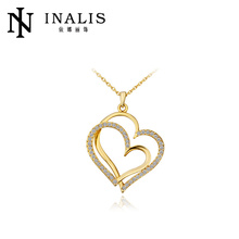 2014 SGS Certified hearts crossed golden gift for the mothers days N584