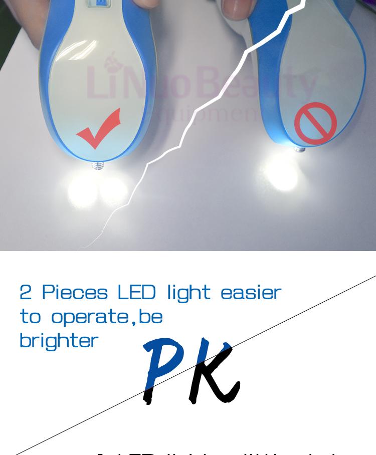 2nd Generation 2 светодиодные фонари лазерной плазмы ручка ВЕК плазмы Лифт ручка мол удаления машина