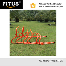 FITUS Speed Training Agility and Plyometric Hurdles Pack of 5 Choose from 6 inch 9 inch or 12 inch