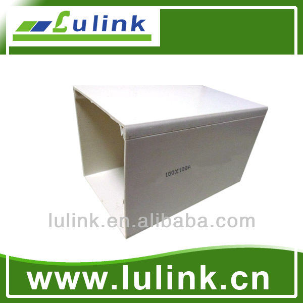 PVC trunking 100*100A MM 100100 PVC pipe