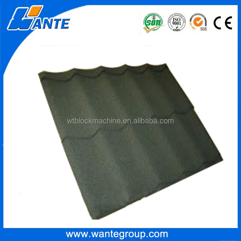 Roof construction material Spanish style stone coated metal roof tile