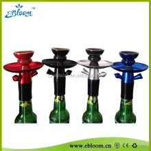 Top Wine Shisha hookah glass bottle hookah samll hookah accessories on sale