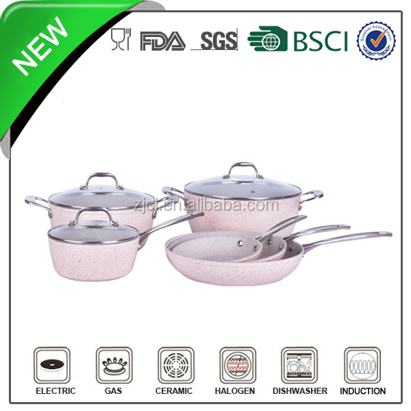 9pcs qaulity ceramic kitchenware and cookware