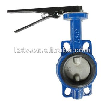 Wafer PN16 Butterfly Valve Lever Operated