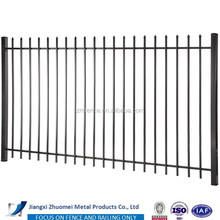 ZM lowest price gothic fence panels pickets