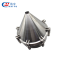 304/316L Stainless Steel Sanitary Tank Conical Manhole cover