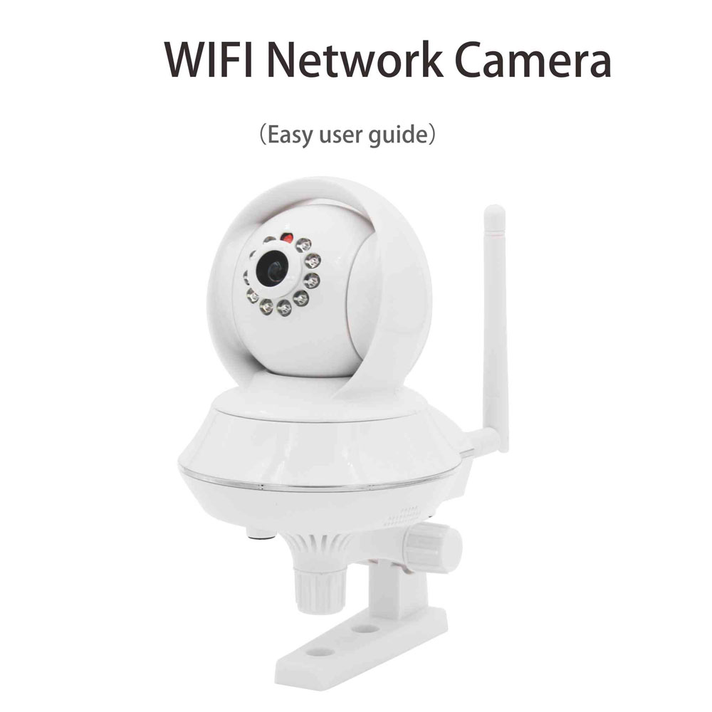 Wireless Wifi network P2P IP camera support micro SD card (max 32 GB) storage, mini NVR and cloud storage