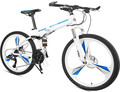 Integrated wheelbike for mountain bike folding 26 inch 21/27 speed