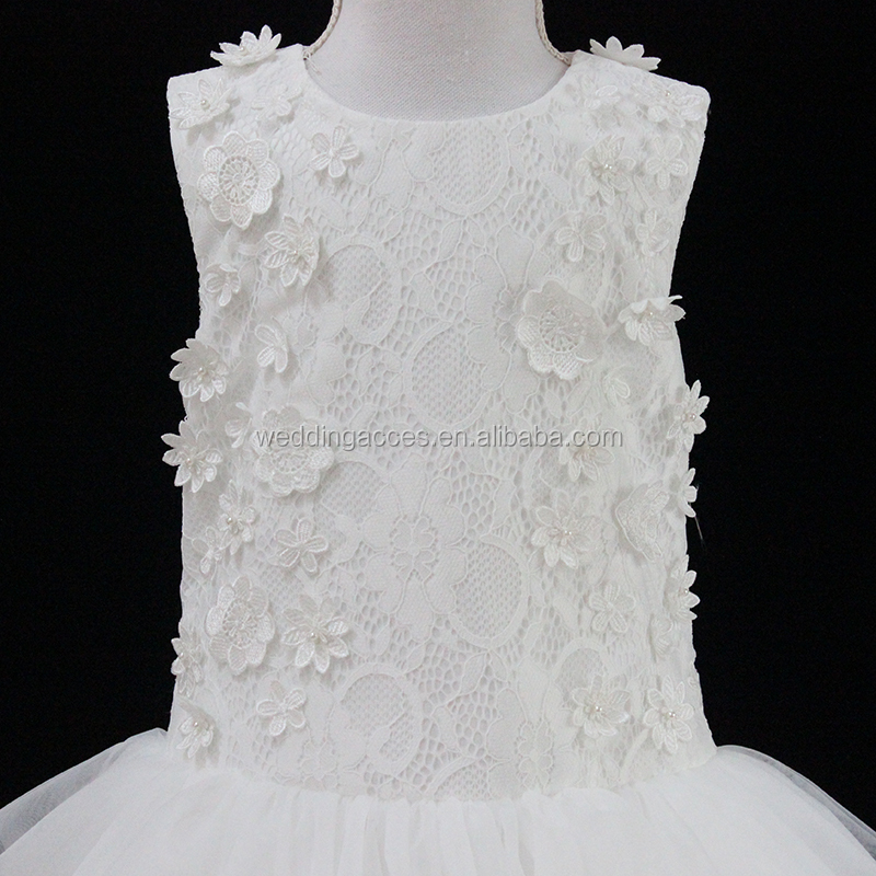 D30277aKids Princess wholesale lovely lace flower girl dresses for children wedding dress  girls party dresses
