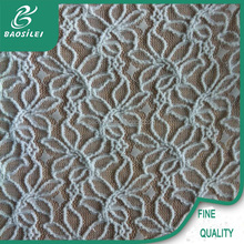 Yiwu factory provide all kinds of high quality white nylon lace fabric use for underwear men